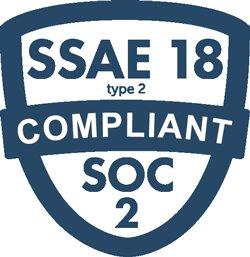SSAE 18 type 2 Compliant